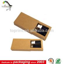 2014 new kraft paper essential oil box