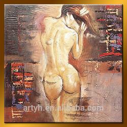 Handmade nude women back home design oil painting for decor