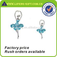 Ballet Dancer Crystal Brooch Pin for Sale