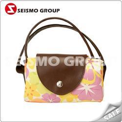 high quality silk screen eco bags foldable non woven shopping bags