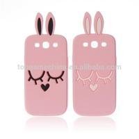 Custom silicon phone case for samsung galaxy s3 9300