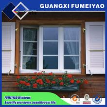Thermal-break aluminum profile energy-saving window inset blinds in Netherlands
