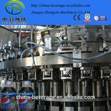 gas drink washing filling and sealing machine
