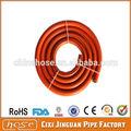 De alta calidad ce aprobado manguera de pvc blanco, la capa de ozono resistente a la tubería, tubo de barbacoa/de plástico de pvc tubería de gas natural conectores