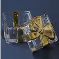Oro frasco de vidrio para el caramelo como decoración