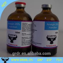 Analgin Injection 25% Metamizole Sodium Injection