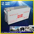 بيع 12v150 الجافة بطارية قابلة للشحن البطارية الشمسية