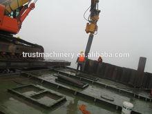 Hydraulic Vibratory Hammer/vibro hammer/pile driver/excavator mounted piling machine
