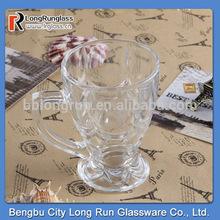 LongRun 5.5OZ glass coffee cup with handle