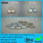 N35 zinc coated D8H1 neodymium magnet disc