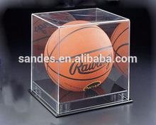 Clear Acrylic Basketball Display Mini Showcase
