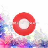 Red sparkle circle color and crazy contact lenses/original crazy contact lens/cosmetic plano crazy contact lens