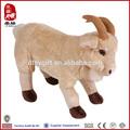 venta al por mayor fabricante de china suave animalesdejuguete macho cabrío de peluche de felpa de juguete de los animales