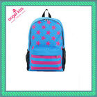 2014 new fashion cheap polyester leisure sport backpack school bag