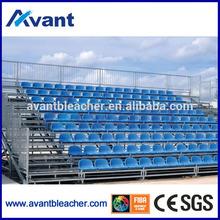 Aneasy china cheap plastic outdoor chair demountable bleacher portable bleacher stadium seat demounted tribune