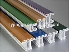 Plastic co-extruded PVC/UPVC profiles