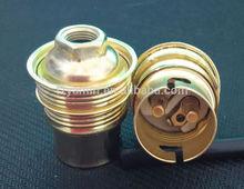 Bare price CE B22 Metal Lamp holder socket cap E10,E12,E14,E17,E27,E40,B22,GU10,MR16