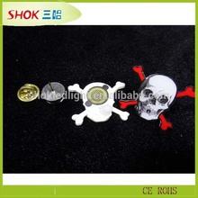 Halloween Gift Factory Wholesale Flashing Custom Button LED Badge