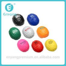 2014 New Popular High Quality Soft Beautiful PU Brain Shaped Stress Balls
