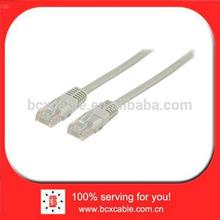 Unshielded utp RJ45 CAT 5e network cable 15.0 m grey