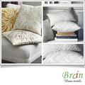 nuevo diseño de sgs certificado de sofá de decorativos de diseño pintado a mano fundas de cojines