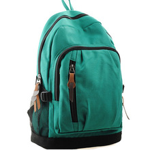 BV5092 New products Korean student backpack green stylish leisure bag for women girls wholesale China