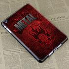 red skull colourful hard case cover for apple ipad mini
