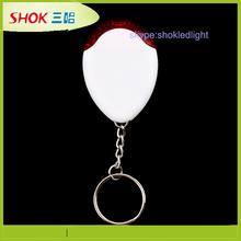 China factory flashing mini led flashlight mobile phone key chain