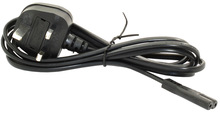 2m 6'ft Figure 8 IEC C7 to UK Mains Plug Mains Power Cable 3Amp 3 Amps Lead Wire