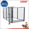Large outdoor modular heavy-duty dog boarding kennels for sale