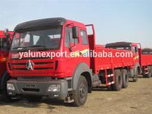 Beiben 6x6 lorry truck North Benz 2634 6*6 off road cargo truck