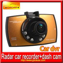 Hot sale and fashion full hd 1080p car camera dvr video 3m cmos sensor