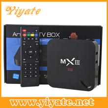 2014 Popular Digital Quad Core TV Box With Bluetooth 8GB Nand Flash 2GB Ram Android 4.4 Set Top Box MXiii