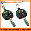 3D soft pvc rubber key chain,keyring/ keychain,key covers