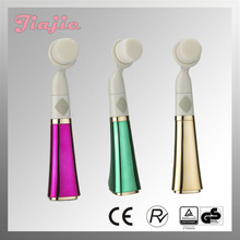 Fashion Women's Electrical Facial Brush Cleaning Brush with AAA Battery