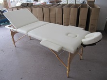 2-section wooden massage desk,table,couch
