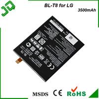 Spice original high capacity 3500 mah mobile phone Batterie BL-T8 for LG