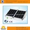 New monocrystalline 100w folding solar panel for dc12v solar system