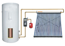 Split Pressurized Solar Water Heater(24pcs heat pipe collectors)