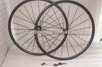 700C Carbon Road Bike Rim Wheelsets Clincher/Tubular 20mm UD/3K Matte/Finish
