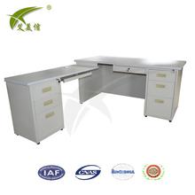 steel office desk dimensions reception u shape