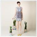 2014 Robes personnalisés de Top Qualité avec Nouveau Design Digital Printing coton