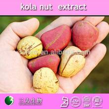 100% natural 10%~20% caffeine kola nut extract