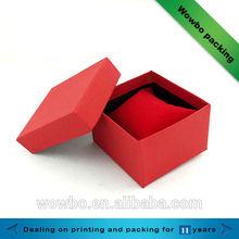 Luxury ring paper box/ beautiful design ring paper box