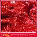 Ásia pagamento alibaba china novo Whoelsae bordado de lantejoulas tecido tecido para barcos e iates