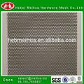 Precio bajo panel metálico perforado barato / láminas perforadas de malla de plástico / malla tejida perforada, de fábrica directa