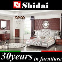 antique style bedroom set furniture /royal furniture bedroom sets / royal luxury bedroom furniture for saleLV-B9022