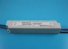 5050 smd led strip power supply 12v 1a 12w ac 100-240v