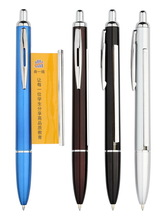 Best selling banner ball pen promotion pen with roll out paper
