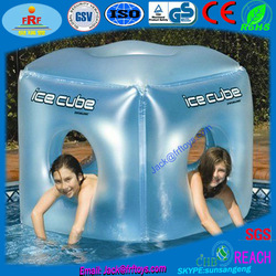 Giant inflatable dice cube Inflatable pool float cube Inflatable floating cube